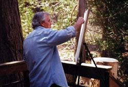 john painting woods th